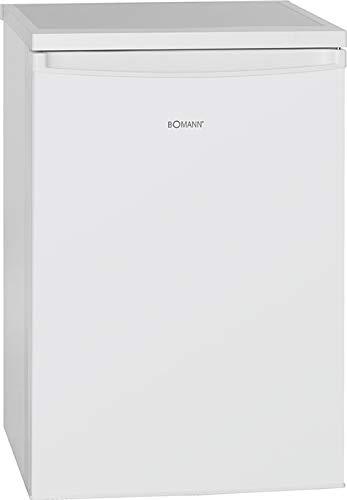 Bomann VS 2185 Kühlschrank / E / 84.5 cm / 90 kWh/Jahr /133 L Kühlteil / stufenlose Temperatureinstellung / weiß