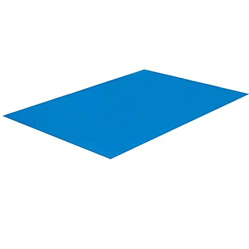 JAWSEU Pool Ground Cloth, Pools Bodenschutz Boden Poolmatte, Faltbares Wasserdichtes Rechteckiges Bodenfolien Bodenmatte Für Schwimmbäder 445 * 254cm