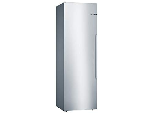 Bosch KSV36AIDP Serie 6 Freistehender Kühlschrank / D / 186 cm / 93 kWh/Jahr / Inox-antifingerprint / 346 L / SuperKühlen / EasyAccess Shelf