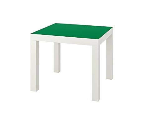 IKEA Beistelltisch Lack weiß grün 55x55cm