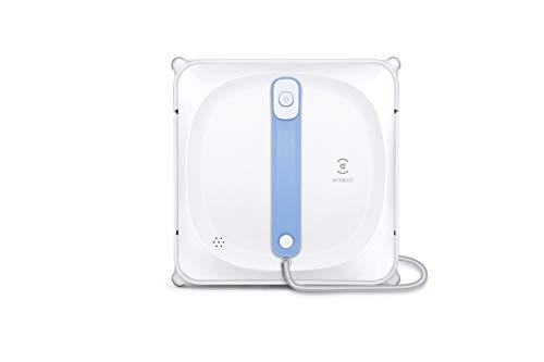 ECOVACS WINBOT 920 (Neuheit 2021): Intelligenter Fensterputzroboter mit Sicherheitssystem, Smartphone-Steuerung via App und tragbarer Aufbewahrungstasche für Fensterputzer Roboter, Weiss