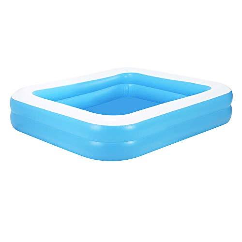 Aufblasbarer Pool Family Pool Deluxe, Kinderpool Planschbecken Schwimmbad Family Ocean Ball PoolPlanschbecken, PVC-Klappbarer langlebiger Swim Pool für Familie, Garten, Outdoor 110 * 88 * 33 cm