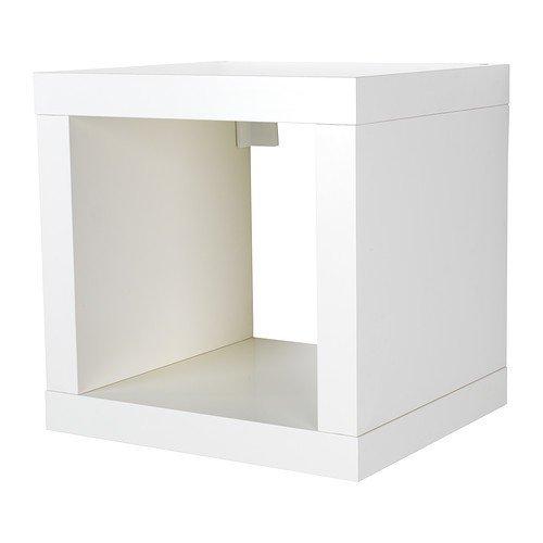 IKEA KALLAX Regal in weiß; (42x42cm)