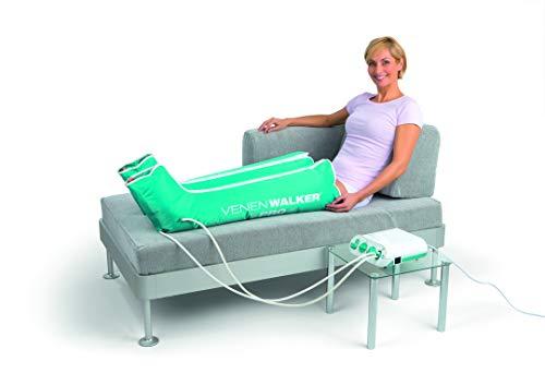 VITALmaxx Venen Therapiegerät VenenWalker Pro | Hilft gegen Verspannungen und bei schweren Beinen | Inkl. 2 Beinmanschetten und Timerfunktion [230 V]