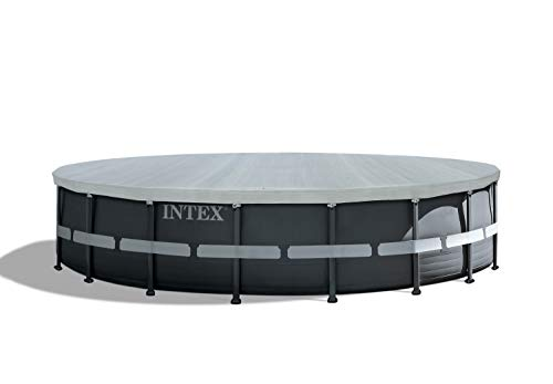 Intex Deluxe Pool Cover - Poolabdeckplane Deluxe - Ø 549cm - Für Ultra Frame Pool