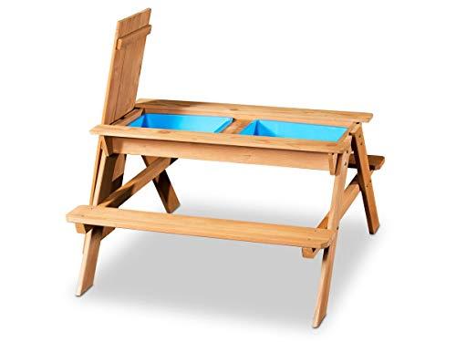 Coemo 2in1 Kindersitzgruppe und Sand-und Wasserspieltisch Kinder