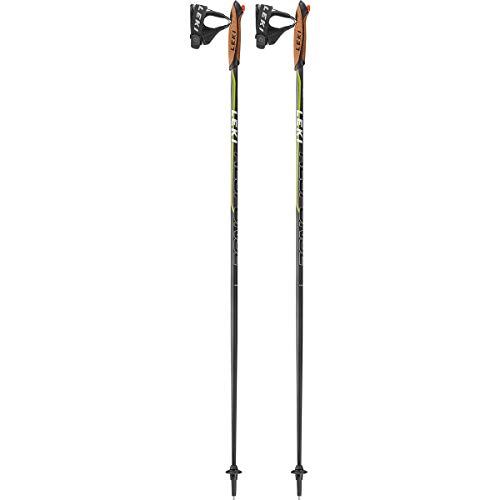 LEKI Nordic-walking Stöcke Response, schwarz, 115 cm, 637-2520