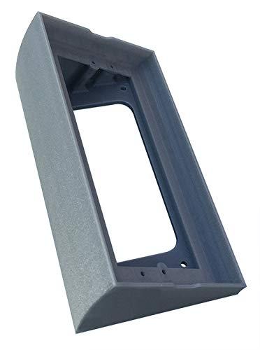 Gehäuse mit 30° Winkel für Videosprechanlagen BTicino Linea 3000