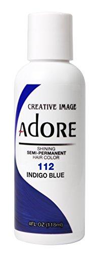 Adore Shining Semi-Permanent Haarfarbe, 112 Indigoblau