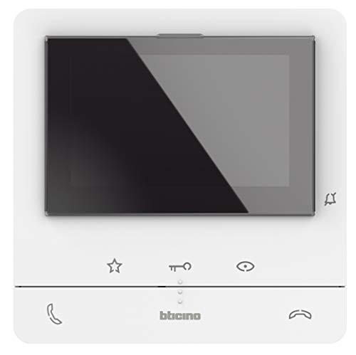Video-Innenstelle Classe 100 V16B mit 5' (12.7cm) Farb-LCD-Monitor, 2 Gesprächstasten, 3 Sensor- und 4 frei konfig. Tasten, LED-Statusanzeige und 16 melodischen Ruftönen