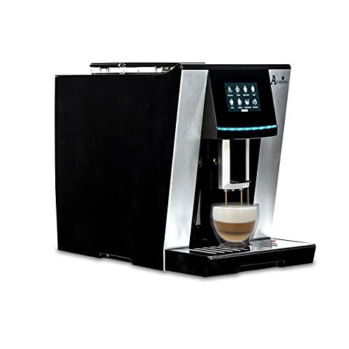 Acopino Vittoria One Touch Kaffeevollautomat und Espressomaschine mit Milchsystem,Cappuccino und Espresso auf Knopfdruck farbiges Touch Display