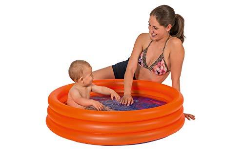 Smart Planet® Baby Pool/Mini Kinder Planschbecken 100 cm Kleiner Pool zum Baden für Babys und Kleinkinder