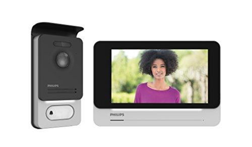 PHILIPS WelcomeEye CONNECT - Videosprechanlage -2 Draht Technik - 7' Touch-Display, incl. Smartphone App, DES 9900 VDP