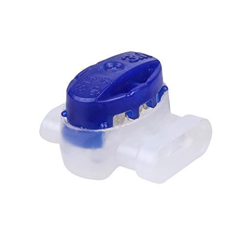 Worx 5 x Kabelverbinder für Landroid Mähroboter, WA0198, Blau