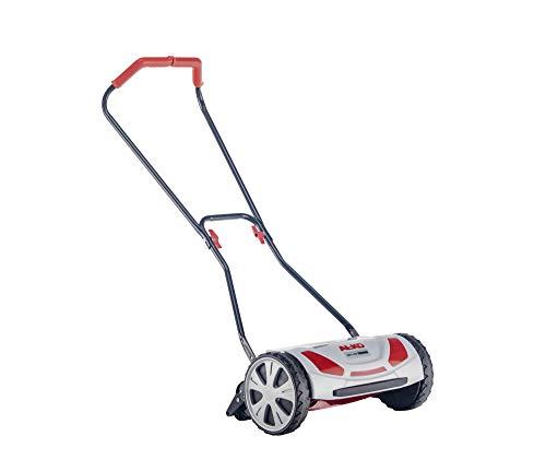 AL-KO Spindelmäher Razor Cut 38.1 HM Comfort (Schnittbreite 38 cm, Schnitthöhe 4-fach verstellbar, nur 7.7 kg schwer, extrem wendige Bauweise, ideal für Rasenflächen bis 250 m²), grau