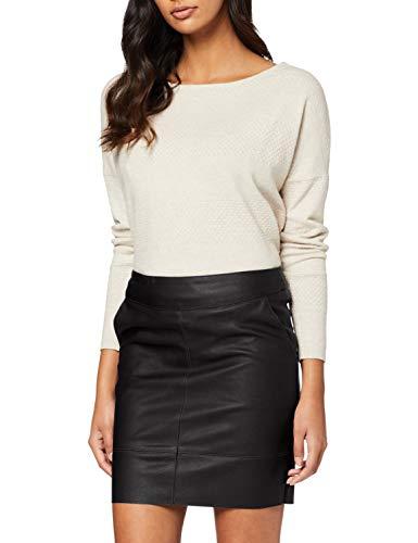 ONLY Damen onlBASE Faux Leather Skirt OTW NOOS Rock, Schwarz (Black), 40
