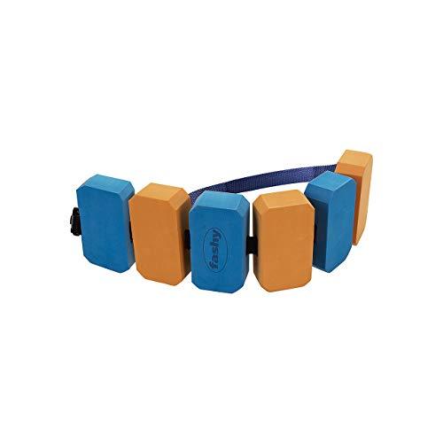 Fashy Kinder SIMA Schwimmgürtel, Blau/Orange, One Size