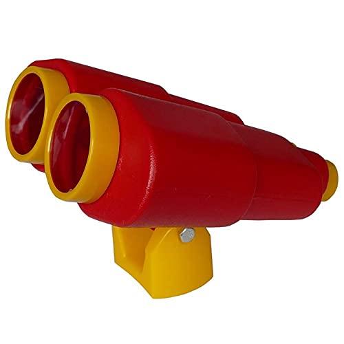 Fernglas Kunststoff Farbe rot/gelb Spielzeug für Kinder im Garten