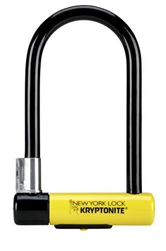 Kryptonite New York Lock Standard (10x20cm) Fahrradschloss, Yellow, 10 x 20 cm