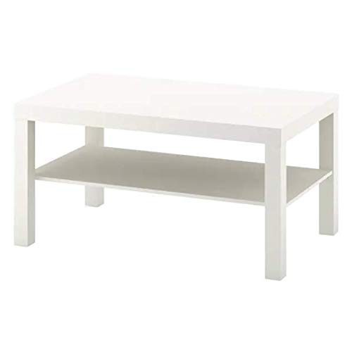 IKEA Lack Couchtisch in weiß; (90x55cm)