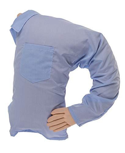 Out of the Blue 32/2040 - Kuschelkissen Boyfriend, ca. 65 x 60 cm, 100 Prozent Polyester, in Kunststofftasche mit Reißverschluss
