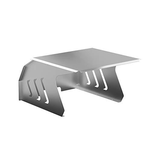 KÖNIGSPROD Edelstahl Mähroboter Garage, Schutz für Automower, Rasenroboter Dach, Carport, Roboport Deluxe, L