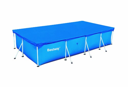 Bestway Abdeckplane, für Frame Pools, blau, 404 x 214cm