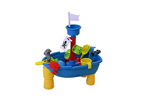 Knorrtoys 57051 - Sand- und Wassertisch Piratenschiff