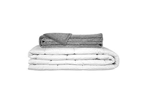 GRAVITY ORIGINAL Therapiedecke Gewichtsdecke - Schwere Decke für Erwachsene/Jugendliche Für besseren Schlaf, Größe: 135x200 cm, 6 kg