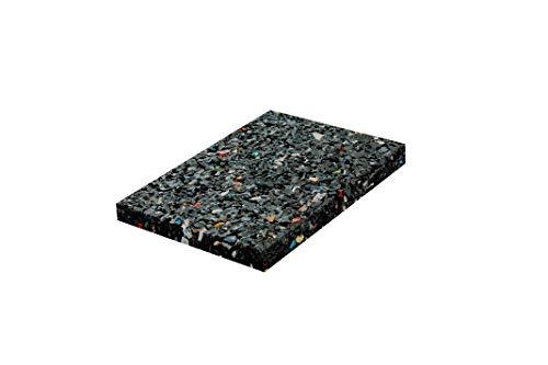 48x Terrassenpads [8mm] 60x90 in unterschiedlichen Stärken aus Gummigranulat - verwendbar als Poolunterlage, Bautenschutzmatte - Gummimatte Pads als Unterlegplatten (Gummiunterlage)