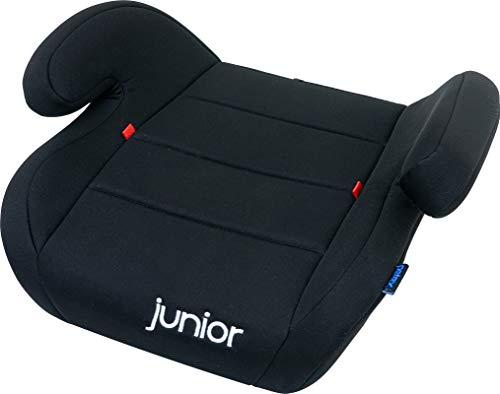 Petex Auto-Kindersitzerhöhung Max 105 ECE-Gruppe 2-3, Kinder von ca. 3,5-12 Jahre|15-36 kg, schwarz