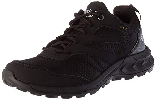 Jack Wolfskin Damen WOODLAND TEXAPORE LOW W Outdoorschuhe, black, 39 EU