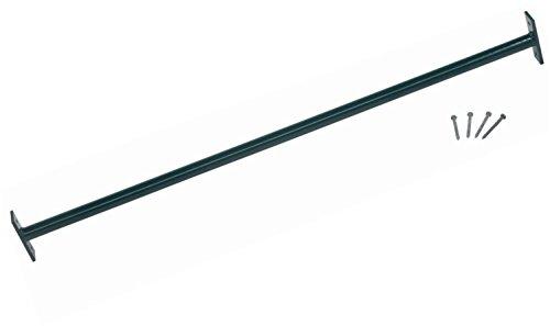 Loggyland Reckstange 125cm für Turnreck, Reck, Metallreck, grün