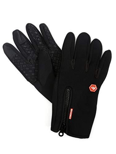 Nordic Walking Handschuhe Damen schwarz ELASTO Training Handschuhe Fitness Damen MTB Handschuhe lang M Nordic Walking Handschuhe Damen mit Grip Handschuhe Gummi Beschichtung Kletterhandschuhe Damen