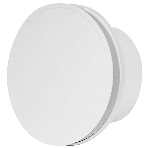 Ø 100mm Ventilator mit Timer - Weiß - Badlüfter Lüfter Wandlüfter WC Bad Küche leise Kleinraumventilator