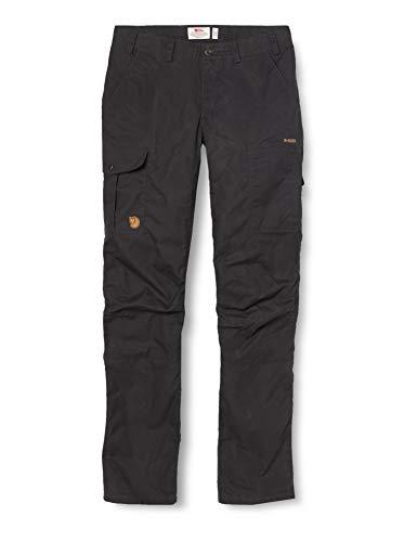 Fjällräven Damen Karla Pro Trousers W Hose, Grau (Dark Grey 030), 44