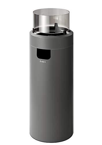 Enders Feuerstelle NOVA LED L, Gas Terrassenfeuer mit Ambientebeleuchtungen, ECO GREEN Brenner-Technologie und exzellentem Design