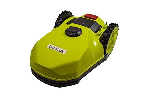 Baricus Akku-Mähroboter Easy bis zu 400qm Rasenfläche, selbstfahrender Rasenmäher für Ihren Garten, viele Funktionen, inklusive Akku sowie Ladestation und Netzteil B-Ware QV90282