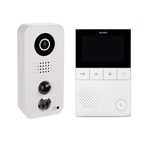Doorbird A1061W IP-Video-Türsprechanlagen-Kit D1101V und Gong