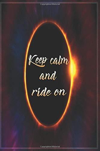Keep Calm and Ride on Notebook: Drift Trike Journal (A5 Format, 6 x 9)