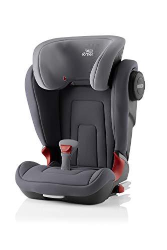 Britax Römer Kindersitz 3,5 - 12 Jahre I 15 - 36 kg I KIDFIX 2 S Autositz Gruppe 2/3 I Storm Grey