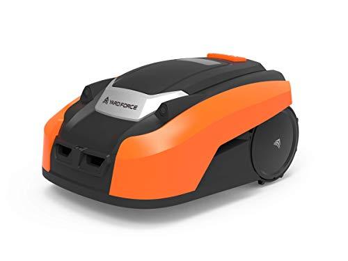 Yard Force Mähroboter LUV 600Ri bis zu 600 qm - Selbstfahrender Rasenmäher Roboter mit WLAN-Verbindung, App-Steuerung, iRadar Ultraschallsensor, Kantenschneide-Funktion und bürstenloser Motor