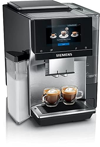 Siemens Kaffeevollautomat, EQ.700 integral TQ707D03, intuitives Full-Touch-Display, speichern Sie bis zu 30 individuelle Kaffeekreationen, klavierlack schwarz
