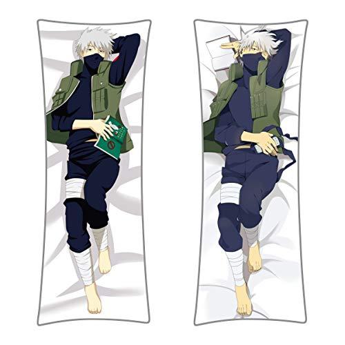 CoolChange Naruto Umarmungskissen, Dakimakura Kissenbezug 150x50cm, Motiv: Kakashi