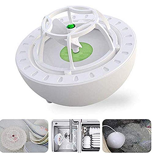 Macabolo Mini Ultraschall Oxo Geschirrspüler Maschine, tragbare USB Geschirrspüler Hochdruck-Wasserreiniger für Obst Gemüse Gläser