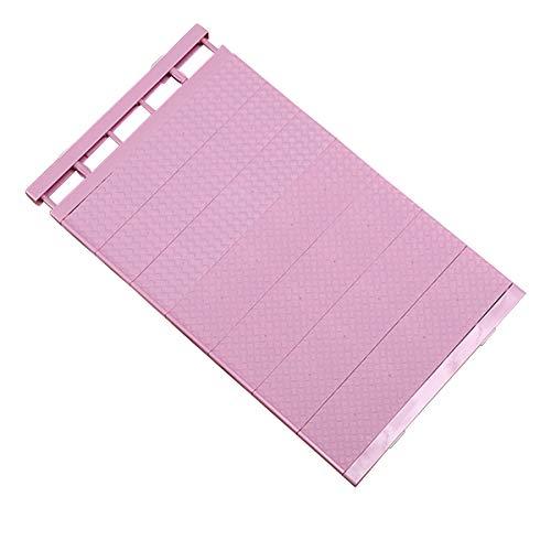 Xinapy Lagerregal Erweiterbares Trennregal Kleiderschrank Trennwand Verstellbarer Küchenschrank Schrank Veranstalter