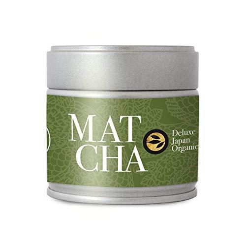 alveus® Superior Organic Rarities Matcha (Deluxe) Premium Bio Ceremonial Grade aus Tenryu, Japan | Seien Sie der Kaiser der Tee-Zeremonie