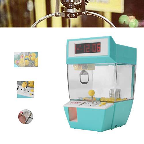 Candy Grabber-Maschine, Candy Grabber mit Stummschaltknopf, Party Arcade-Maschine, für Fairground Arcade Party Claw mit Musikfunktion als Geschenk (Grün)(Grün)