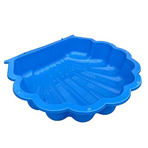TikTakToo Sand & und Wassermuschel Sand & und Wassermuschel I Sandkasten ohne Abdeckung (1-teilig) I (blau)