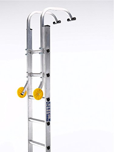 Ladders-Online Dachhaken-Set für Leitern Macht aus einer normalen Leiter eine Dachleiter